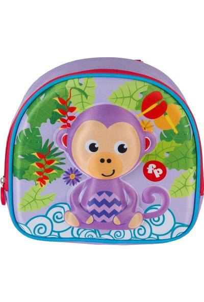 FisherPrice 3D Maymun Mini Anaokulu Çantası