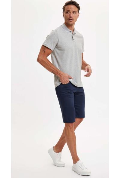 DeFacto Polo Yaka Kısa Kollu Regular Fit T-Shirt