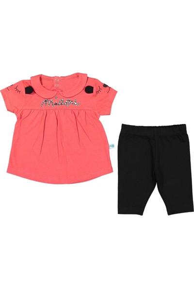 Nazar Bebe Kız Bebek Yazlık 2'li Takım