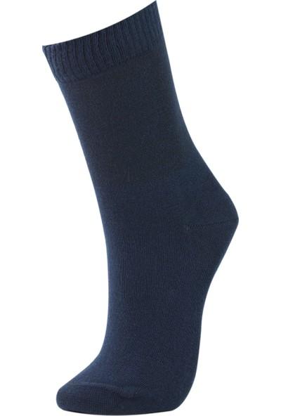 Roff Şeker Kadın Çorabı 6'lı Lacivert
