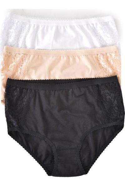 Özten (6 Adet) Yan Parça Dantel Detay Kadın Bikini Külot 110