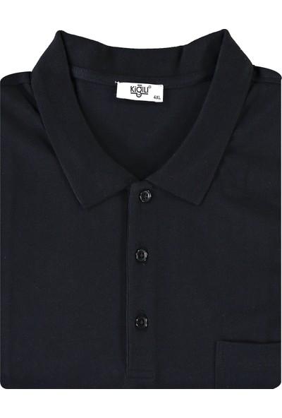 Kiğılı King Size Polo Yaka T-Shirt