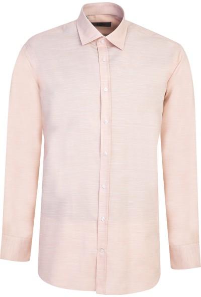 Kiğılı Uzun Kol Relax Fit Desenli Gömlek
