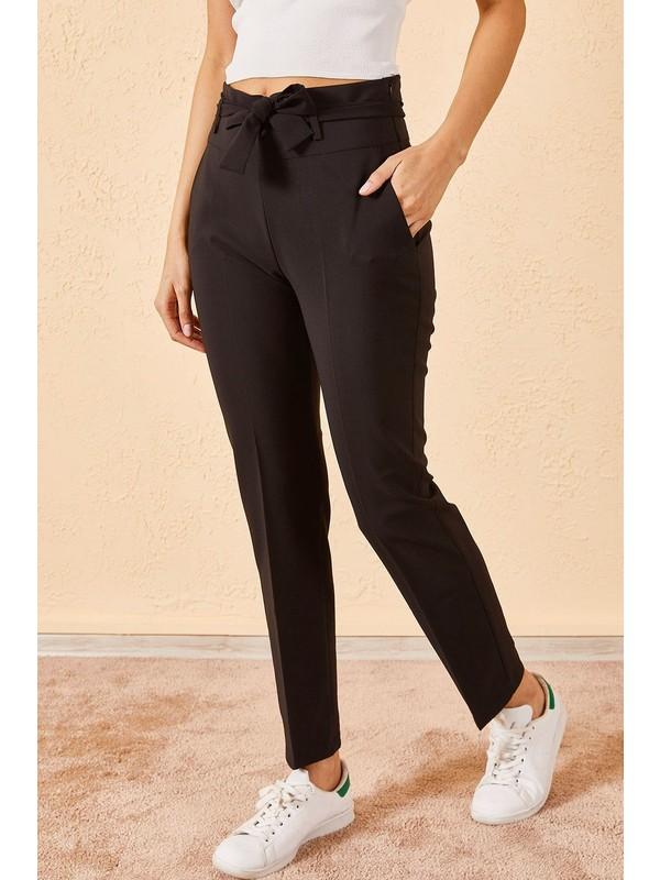 Zafoni Bel Kuşaklı Klasik Pantolon