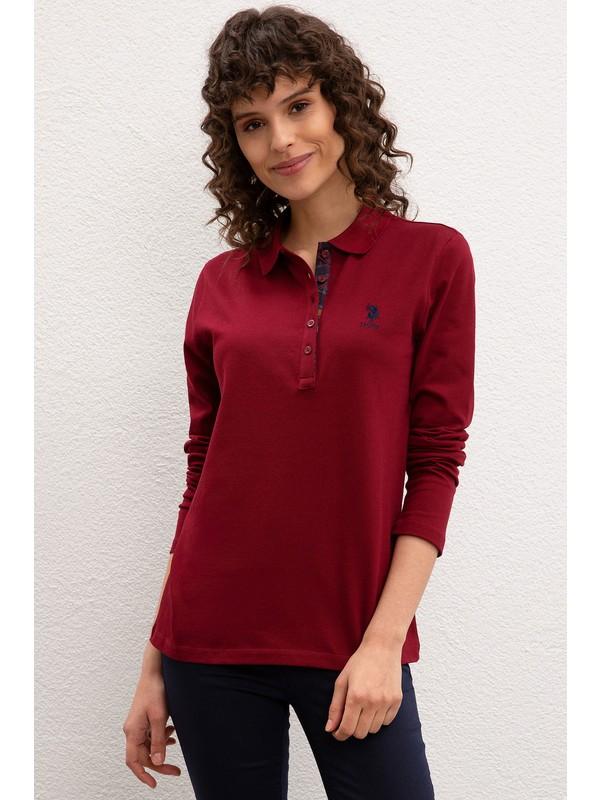 U.S. Polo Assn. Kadın Sweat Shirt Basic 50205969-VR177