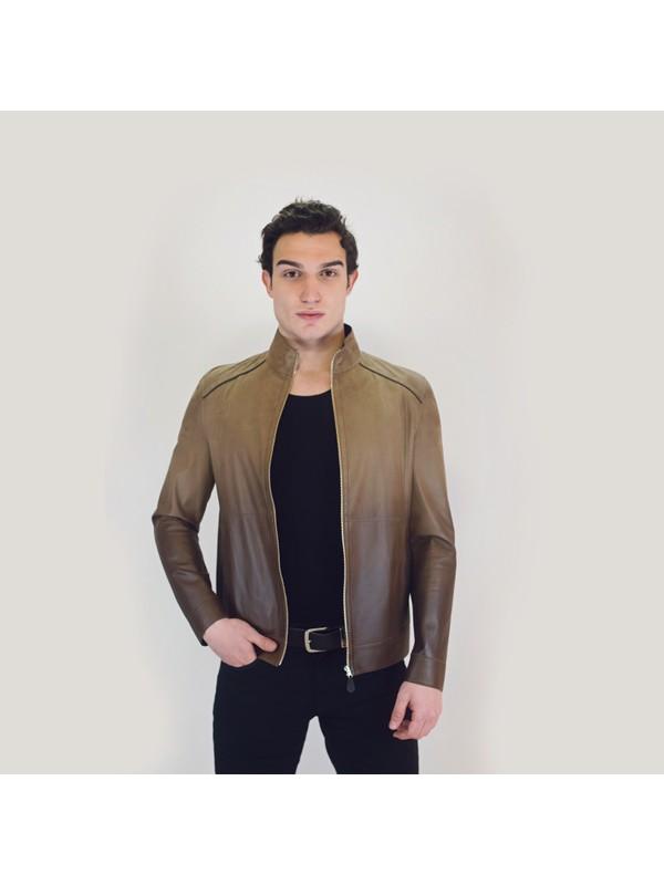 Bilgin's Dalı Erkek Deri Ceket