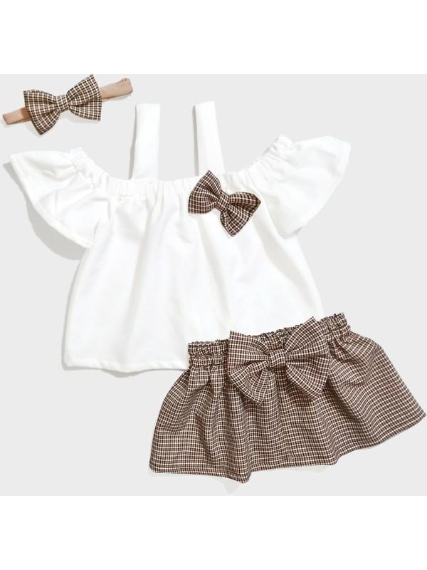 Gnr El Dikimi Bandanalı Kız Bebek ve Çocuk Takım