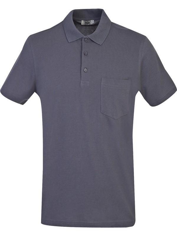 Kiğılı Polo Yaka Regular Fit T-Shirt