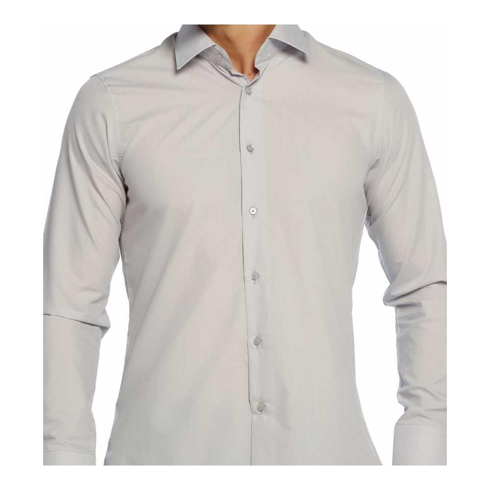 Dar kesim beyaz gömlek erkek 2019