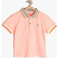 Koton Erkek Çocuk Polo Yaka T-Shirt Pembe