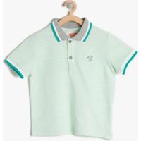 Koton Erkek Çocuk Polo Yaka T-Shirt Mint