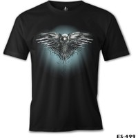 Lord T-Shirt Game Of Thrones - Night Crow Erkek T-Shirt