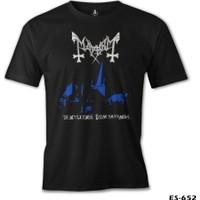 Lord T-Shirt Mayhem - De Mysteriis Dom Sathanas Erkek T-Shirt