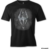 Lord T-Shirt Skyrim - Dragon Erkek T-Shirt