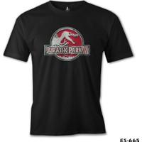 Lord T-Shirt Jurassic Park - Logo Erkek T-Shirt