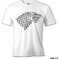 Lord T-Shirt Game Of Thrones - Stark Logo
