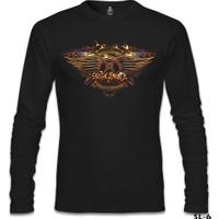 Lord T-Shirt Aerosmith Siyah Erkek T-Shirt
