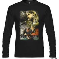 Lord T-Shirt Kurt Cobain Siyah Erkek T-Shirt