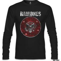 Lord T-Shirt Ramones Siyah Erkek T-Shirt
