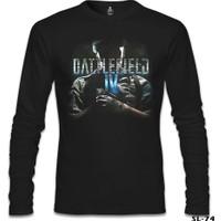 Lord T-Shirt Battlefield 4 Siyah Erkek T-Shirt