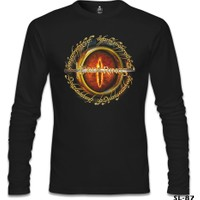Lord T-Shirt The Lord Of The Rings - Sword Siyah Erkek T-Shirt
