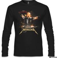 Lord T-Shirt Metallica - James Concert Siyah Erkek T-Shirt