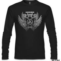 Lord T-Shirt Linkin Park - Wings Siyah Erkek T-Shirt