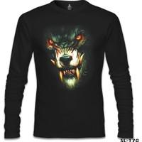 Lord T-Shirt Warewolf Siyah Erkek T-Shirt