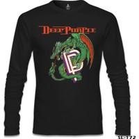 Lord T-Shirt Deep Purple Siyah Erkek T-Shirt