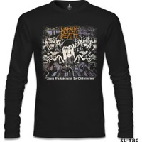 Lord T-Shirt Napalm Death - From Enslavement Siyah Erkek T-Shirt