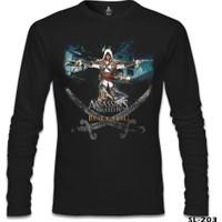 Lord T-Shirt Assassin's Creed 4 Siyah Erkek T-Shirt