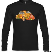 Lord T-Shirt Bugs İn Color Siyah Erkek T-Shirt