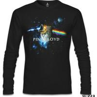 Lord T-Shirt Pink Floyd - Above The Moon Siyah Erkek T-Shirt