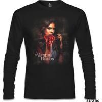 Lord T-Shirt Vampire Diaries Siyah Erkek T-Shirt