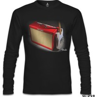 Lord Sweatshirt Fender Siyah Erkek Sweatshirt