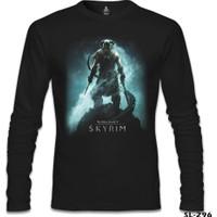 Lord T-Shirt Skyrim - Dawnguard Siyah Erkek T-Shirt
