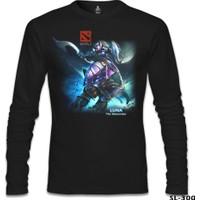 Lord T-Shirt Dota 2 - Luna Siyah Erkek T-Shirt