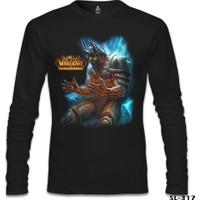 Lord T-Shirt World Of Warcraft - Cataclysm Siyah Erkek T-Shirt