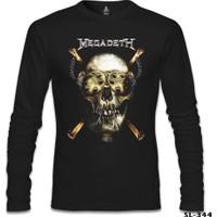 Lord T-Shirt Megadeth - Vic 3 Siyah Erkek T-Shirt