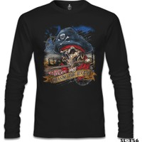 Lord T-Shirt Korsan Kuru Kafa Siyah Erkek T-Shirt
