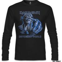 Lord T-Shirt Iron Maiden - Different World Siyah Erkek T-Shirt