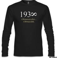 Lord T-Shirt Atatürk - Olmasaydın.. Olmazdık Siyah Erkek T-Shirt