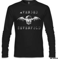 Lord T-Shirt Avenged Sevenfold - Wings Siyah Erkek T-Shirt