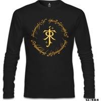 Lord T-Shirt Lord Of The Rings - Jrrt Siyah Erkek T-Shirt