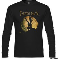 Lord T-Shirt Death Note - Moon Siyah Erkek T-Shirt