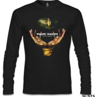 Lord T-Shirt Imagine Dragons - Smoke Mirrors Siyah Erkek T-Shirt