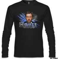 Lord T-Shirt House - It's Not Lupus Siyah Erkek T-Shirt