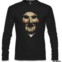 Lord T-Shirt Saw - Testere Siyah Erkek T-Shirt