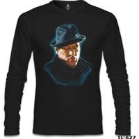 Lord T-Shirt Rocky Balboa Siyah Erkek T-Shirt