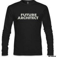 Lord T-Shirt Future Architect Siyah Erkek T-Shirt